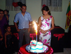 surprise parties in sri lanka